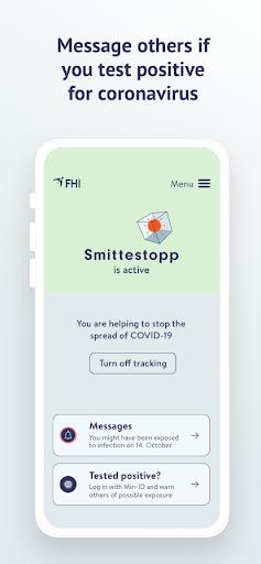Smittestopp screenshots 2