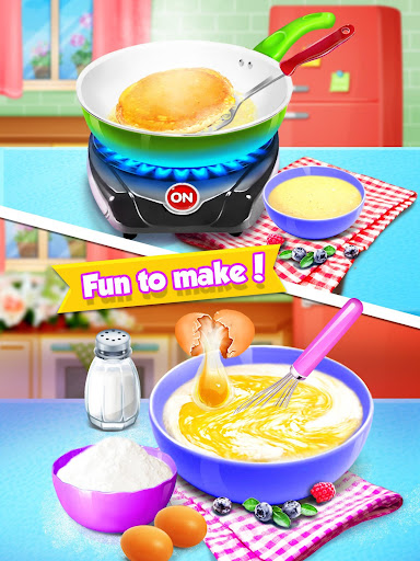 School Breakfast Pancake Food Maker screenshots 1