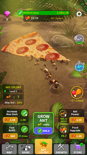 Little Ant Colony - Idle Game 2.2 screenshots 1