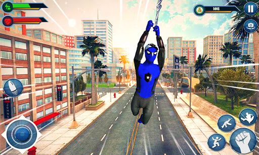 Spider hero game - mutant rope man fighting games  screenshots 3