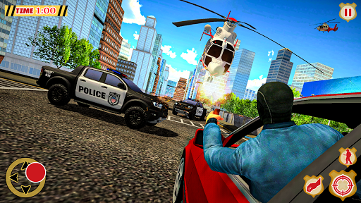 POLICE CRIME SIMULATOR: SUPERHERO GANGSTER KILL apkpoly screenshots 8