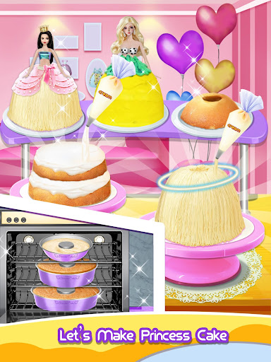 Princess Cake - Sweet Trendy Desserts Maker 2.3 screenshots 7
