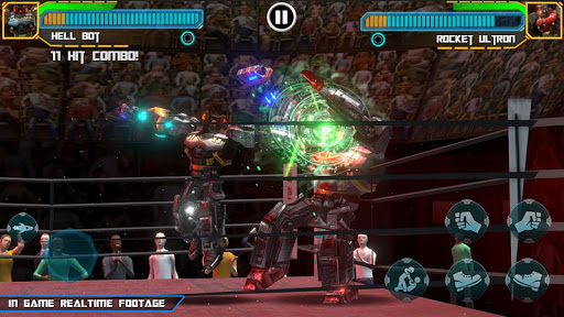 Real Robot Ring Boxing screenshots 3