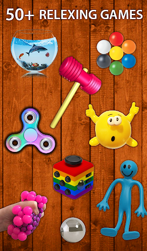 Fidget Toys 3D: Pop it Antistress 3D Calming Games  screenshots 9