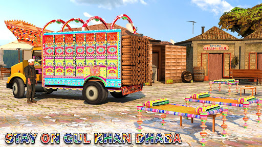 Pak Truck Driver: Heavy Cargo Trailer Truck Apps  screenshots 17