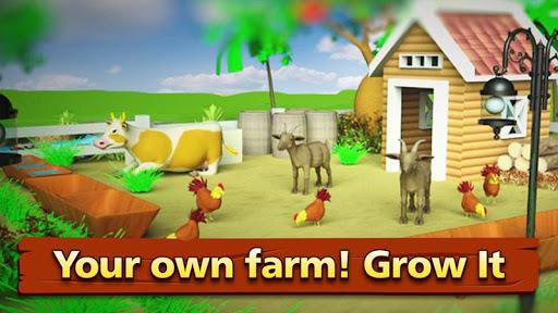 Farm Offline Games : Village Happy Farming  screenshots 1