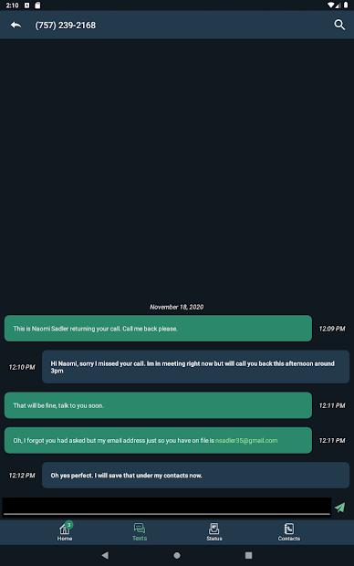 Posh Virtual Receptionists screenshot 7