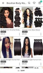 Nexahair: Human Hair Extensions Shopping App