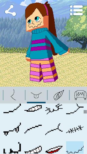 Avatar Maker: Cube Games android2mod screenshots 6