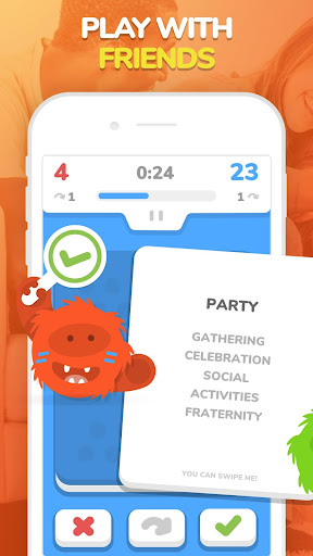 eTABU - Social Game - Party with taboo cards! 7.1.3 screenshots 1