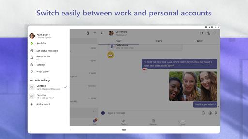 Microsoft Teams apktram screenshots 21