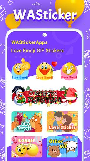 WAStickerApps Love Emoji GIF Stickers apktram screenshots 6