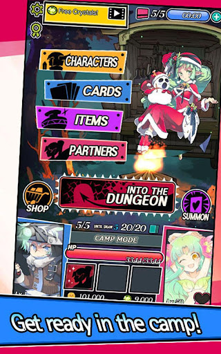 Dungeon & Girls: Card Battle RPG | Build your Deck Apkfinish screenshots 12