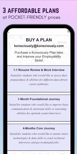 Konsciously: Data, Dev, Tech, Communication Skills  screenshots 8
