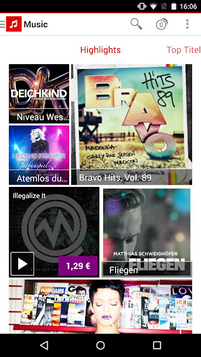 Vodafone Music Shop android2mod screenshots 2