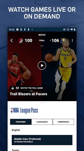 NBA: Live Games & Scores screenshots 3
