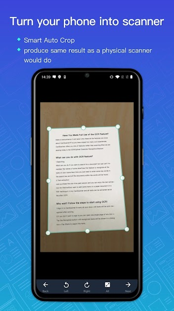 CamScanner Pro Feature