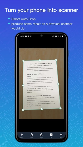 CamScanner - Scanner to scan PDF Android App Screenshot