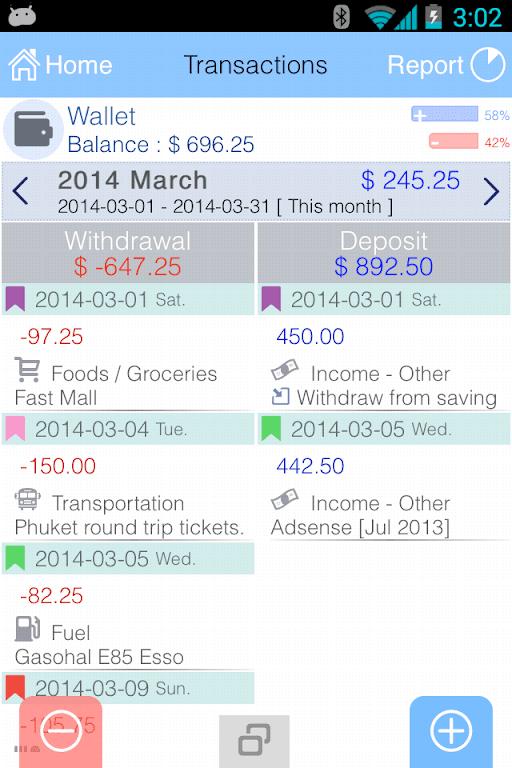 EvoWallet - Money Tracker [Premium]  poster 2