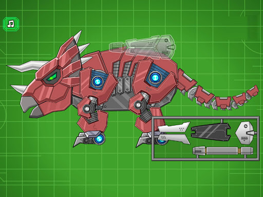 Assemble Robot War Triceratops  screenshots 5