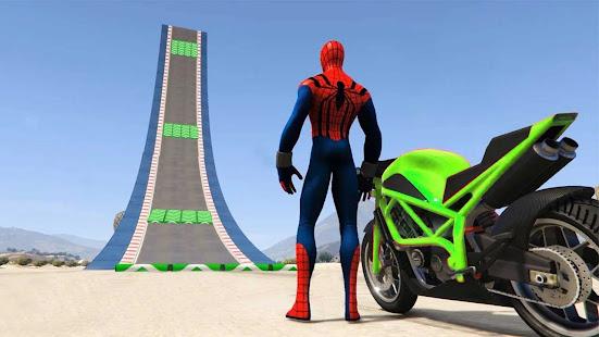 Superhero Tricky Bike Stunt GT Racing 1.14 Screenshots 1