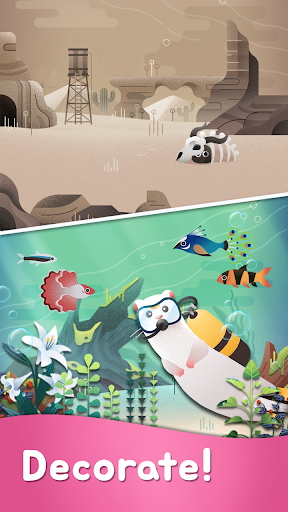 My Little Aquarium - Free Puzzle Game Collection 75 screenshots 2