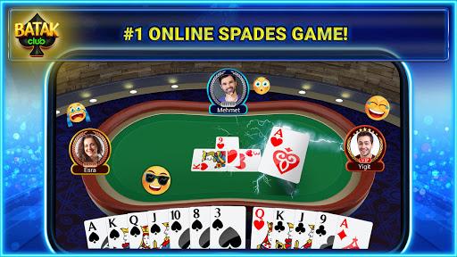 Batak Club - Online & Offline Spades Game 7.1.28 screenshots 1