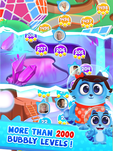 Space Cats Pop - Kitty Bubble Pop Games apkmr screenshots 13