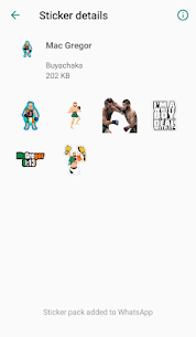 WAStickersApps  MMA Stickers for WhatsApp🔥 Apk Download NEW 2021 4