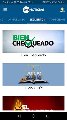 TVN Noticias 7.13.0 Screenshots 2