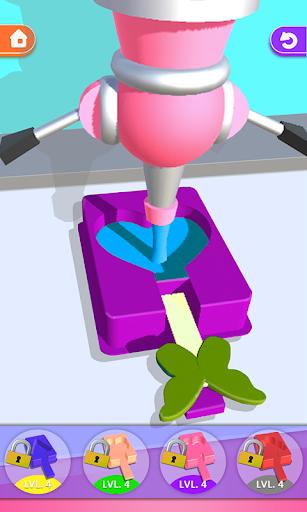 ice cream tie dye 3d! dipping master riddles asmr screenshot 1