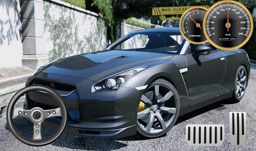 Drive & Parking Nissan GT-R City apklade screenshots 2
