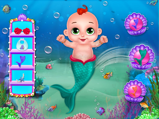 Little Mermaid Baby Care Ocean World 2.0 screenshots 12