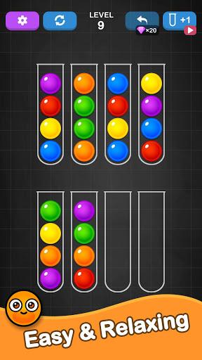 Ball Sort Puzzle - Color Sorting Balls Puzzle 1.1.0 screenshots 2