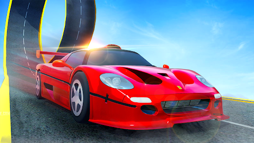 Car games 3d : Impossible Ramp Stunts 1.0 screenshots 2