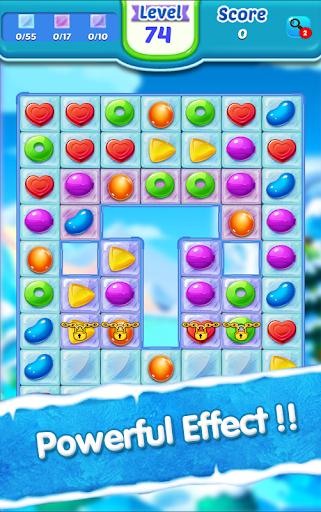 Télécharger Candy Ice Cream - Free Match 3 Game  APK MOD (Astuce) screenshots 1