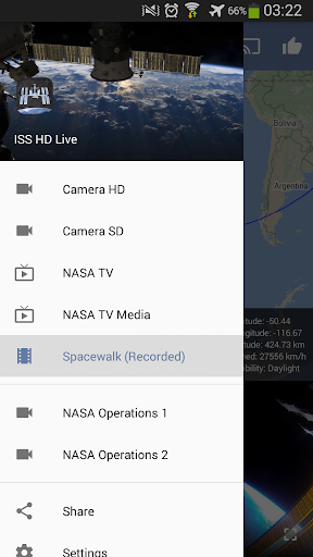 ISS Live Now: Live HD Earth View and ISS Tracker 6.0.4 Screenshots 3