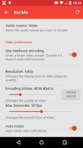 RecMe Screen Recorder Pro v2.6.0 MOD APK 5