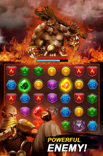Dungeon Puzzles: Match 3 RPG  screenshots 8