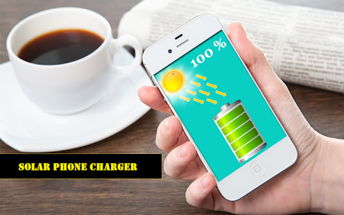 Solar Mobile Charger Prank Screenshot