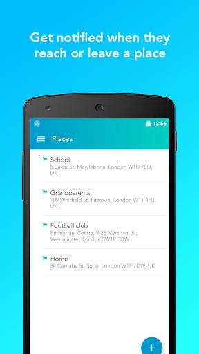 family locator, gps tracker&parental control screenshot 3
