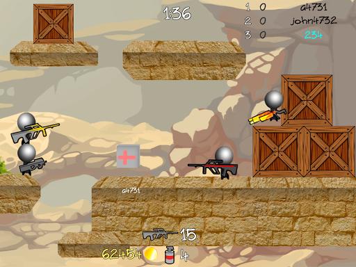 Stickman Multiplayer Shooter 1.092 screenshots 8