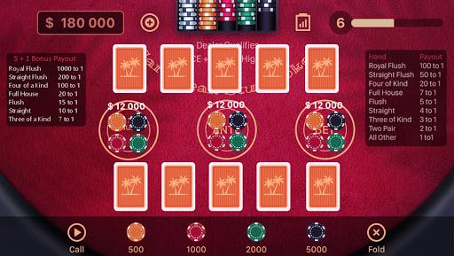 Caribbean Stud Poker 1.2.3 screenshots 1
