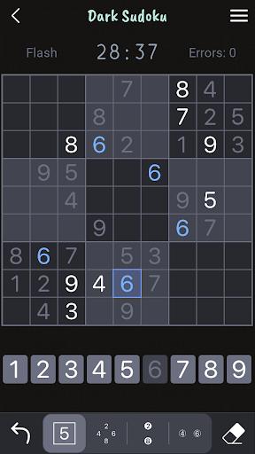 Dark Sudoku - Classic Sudoku Puzzle apklade screenshots 1
