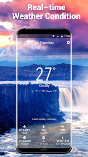 Real-time weather forecasts 16.6.0.6365_50185 Screenshots 3