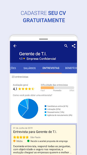 Vagas de emprego home office e presenciais android2mod screenshots 6