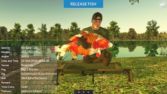 Carp Fishing Simulator MOD APK 2.1.5 (Unlimited Money) 9
