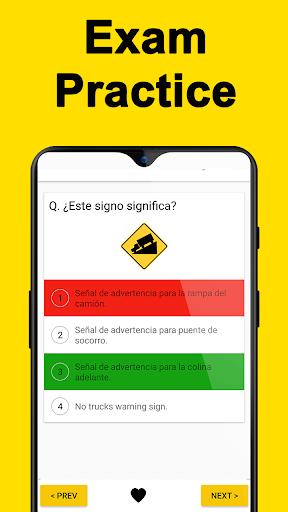 DMV Permit Practice, Drivers Test & Traffic Signs  Screenshots 2