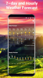 Free Weather Forecast & Clock Widget 16.6.0.6365_50185 Screenshots 4