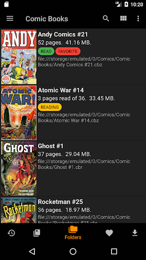 cdisplayex comic reader screenshot 1